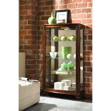 Oak Curio Cabinet Furnitures Fill Your Home With Dazzling Curio Cabinets For