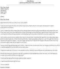 Business Consultant Cover Letter Example   icover org uk icover org uk