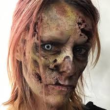 white contact lenses halloween 33 quirky zombie makeup ideas for a ghoulishly delightful