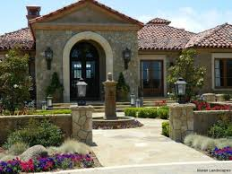 L Shaped Towhnome Courtyards Pictures Spanish Style Houses Pictures The Latest Architectural