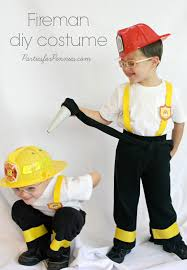 4 year old boy halloween costumes diy costume firemen by partiesforpennies com you will never