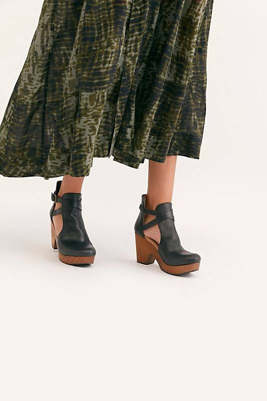 Free People Cedar Clog Heel, Adult,