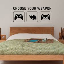 space invaders wall decal art sticker lounge living room bedroom radecal