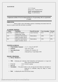 Resume Objectives         Free Sample  Example  Format Download     Over CV and Resume Samples with Free Download B Tech B Tech Resume
