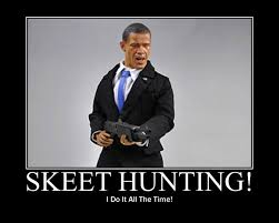 Fake Photo of President Obama Skeet Shooting