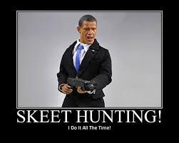 Fake Photo of President Obama Skeet Shooting