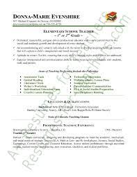 Imagerackus Scenic Elementary Teacher Resume Sample Page With     Get Inspired with imagerack us
