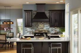 kitchen kitchen colors with dark brown cabinets window