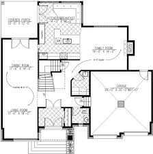 Modern Style Garage Plans Modern Style House Plan 3 Beds 2 50 Baths 2410 Sq Ft Plan 138 357