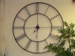 howard miller oversized wall clocks u2014 jen u0026 joes design buying