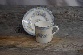 vintage tea cup demitasse made in england coalport pearl
