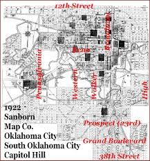 Oklahoma City Map Doug Dawgz Blog Oklahoma City Area History