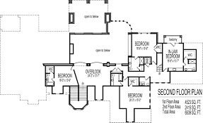 dream house floor plans blueprints 2 story 5 bedroom large home
