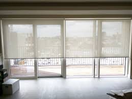 patio doors perfect roller blinds for french doors on patio good