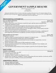 Computer Technician Resume Sample by Extraordinary Design Government Resume Examples 1 Resume Example