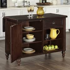kitchen islands carts islands utility tables the home depot country comfort aged bourbon kitchen island with seating