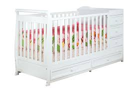 Convertible Crib Changer Combo by Afg Daphne I 2 In 1 Crib And Changer Combo