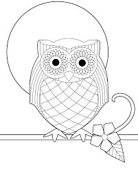 innovative coloring pages of owls book design 4196 unknown