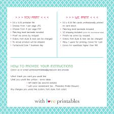 pineapple recipe cards summer party bridal baby shower birthday