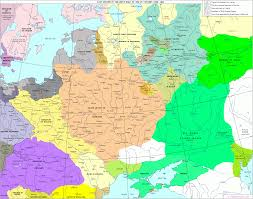 Map Of Russia And Europe by The History Of Russia