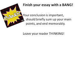How to Conclude an Informative Explanatory Essay    That     s a wrap     SlidePlayer