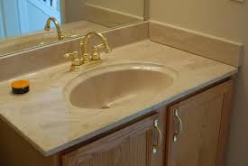 Discount Bathroom Cabinets And Vanities by Remodelaholic Painted Bathroom Sink And Countertop Makeover