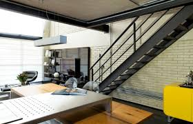 Loft Designs by Industrial Chic Loft Features The Ideal Match Between Comfort And
