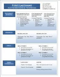 Ms Word Sample Resume by Sample Resume Download In Word Format Download Sample Resume