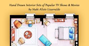 742 Evergreen Terrace Floor Plan Tv Shows Floor Plans That Take More Than 30 Hours To Create