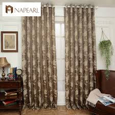 online get cheap decorative curtains brown aliexpress com