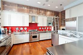 Red And Black Kitchen Ideas Kitchen Wall Design With Red Kitchen Decor Ideas And Brown Floor