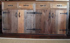 Old Wooden Kitchen Cabinets 40 Images Various Reclaimed Wood Kitchen Cabinet Images Ambito Co