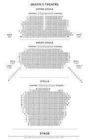queen u0027s theatre seating plan londontheatre co uk