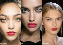 spring summer 2016 makeup trends candy apple lipstick