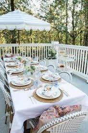 Tablecloth For Umbrella Patio Table by Outdoor Dining Monika Hibbs