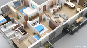 3d Floor Plans by Apartment Designs Shown With Rendered 3d Floor Plans Youtube