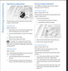 how change headlight bulbs on a 6 series bimmerfest bmw forums