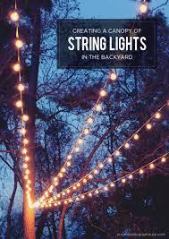 Patio Lights Outdoor best 20 backyard lighting ideas on pinterest patio lighting