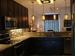 kitchen specs espresso cabinets granite countertops glass