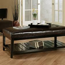 modern ottoman table coffee tables ideas leather ottoman coffee table with storage