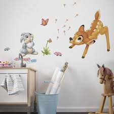 disney bambi thumper giant stickers great kidsbedrooms the home disney bambi thumper giant stickers