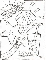 happy summer coloring printables gallery color 6655 unknown