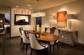 modern rectangular crystal chandelier for warm dining room color