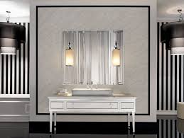 modern vanity table with lighted mirror home decorations