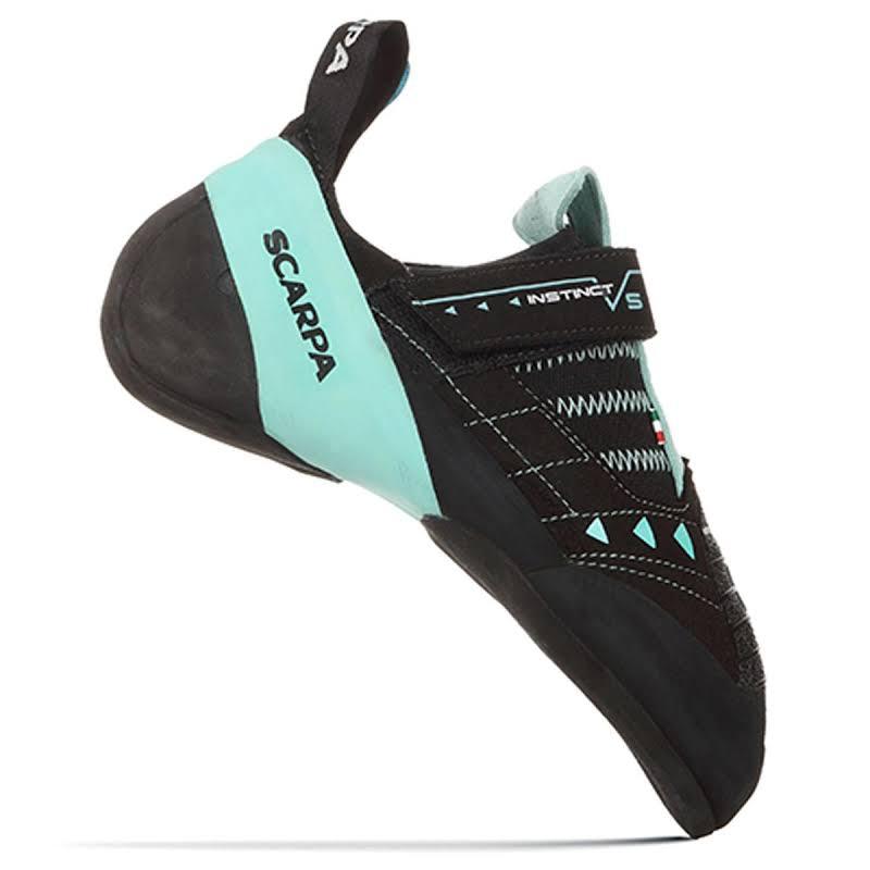 Scarpa Instinct VS Climbing Shoes Black/Aqua Medium 41 70013/002-BlkAqua-41