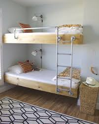 Metal Pipes For Ladder And Bed Rail Natural Interior Design - Ladder for bunk bed