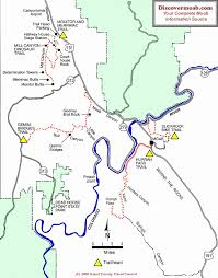 Map Of Colorado And Surrounding States by Moab Mountain Biking Trails Moab Mountain Bike Trail Information