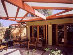 Outdoor Patio With Roof by How To Build A Wood Pergola Hgtv