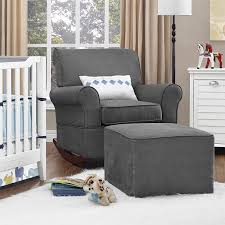 Rocking Recliner Nursery Amazon Com Baby Relax The Mackenzie Microfiber Plush Nursery