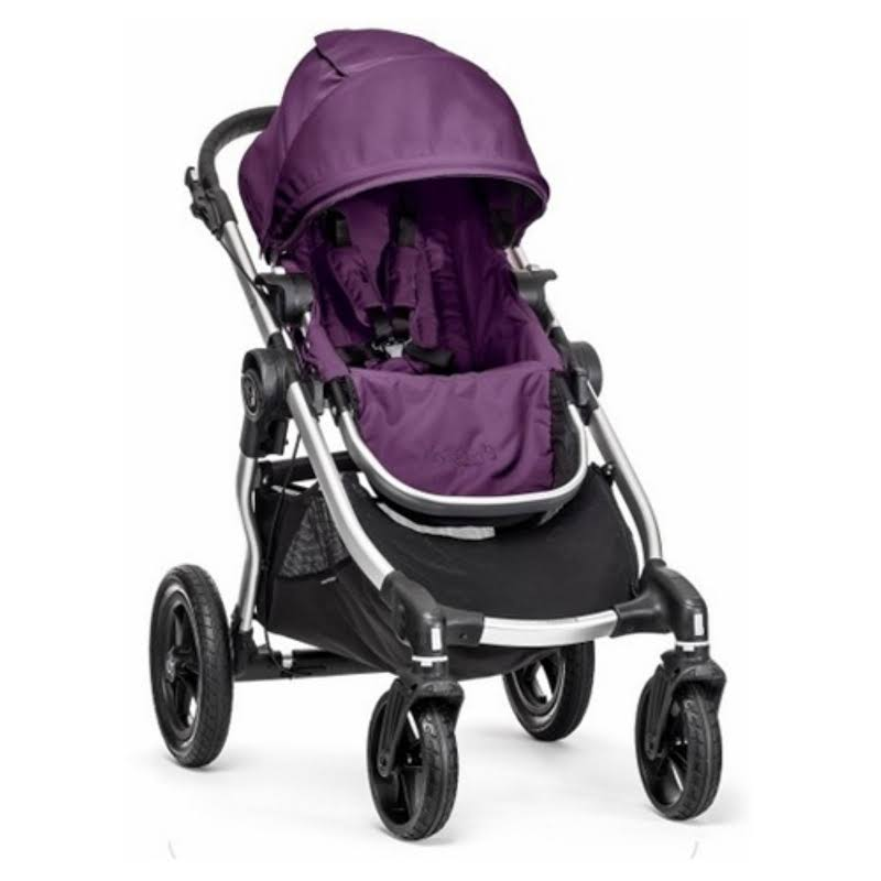 Baby Jogger City Select Lightweight Folding Compact Baby Stroller, Amethyst